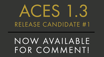 ACES 1.3 RELEASE CANDIDATE-1