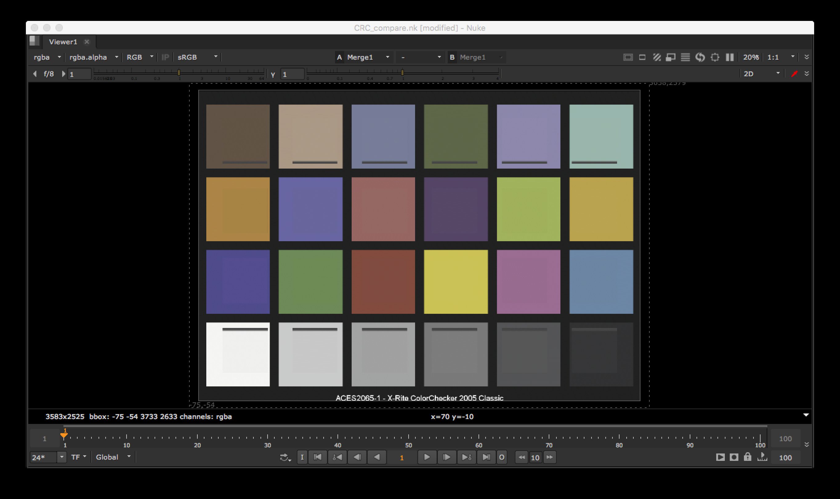 Middle gray confusion vfx aces central the differences are likely to be caused by the source data being different for the colour rendition chart our gizmo is using data from geenschuldenfo Gallery